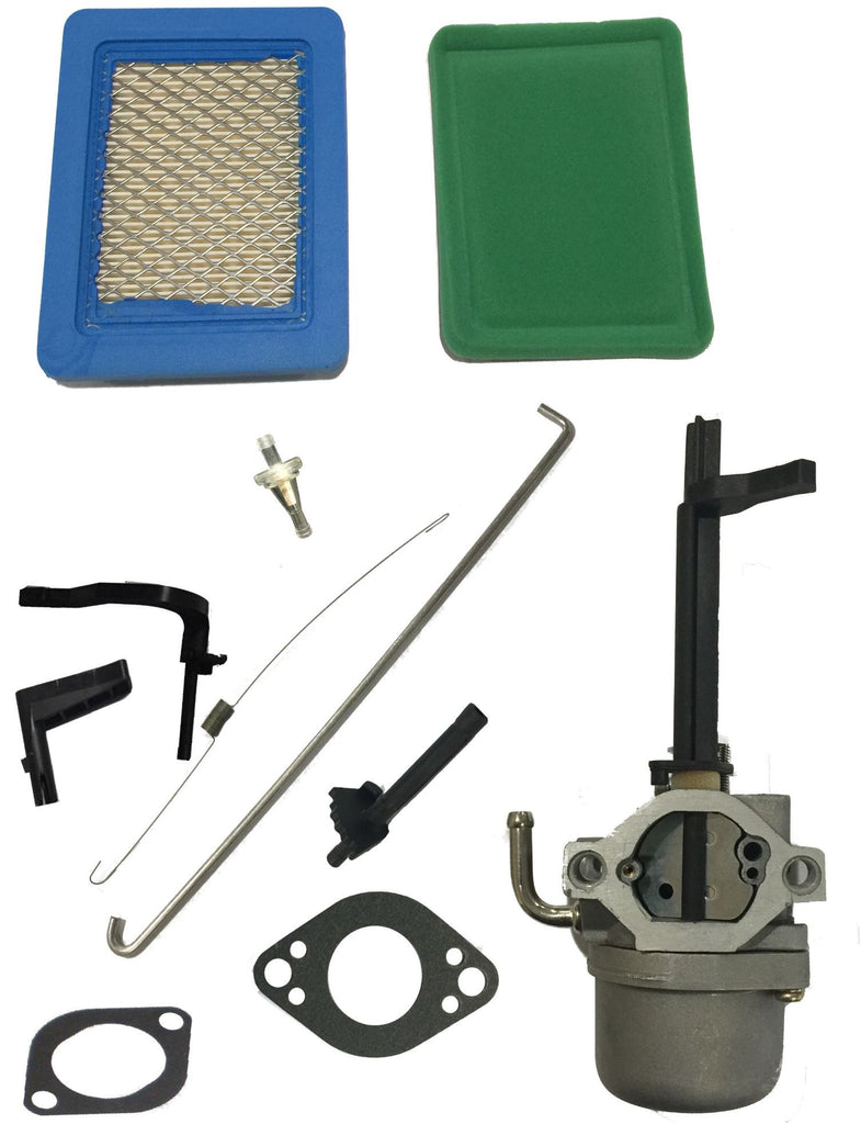Fits Briggs & Stratton Nikki Carburetor Snowblower 591378 With Free Filter Kit Snow Blower