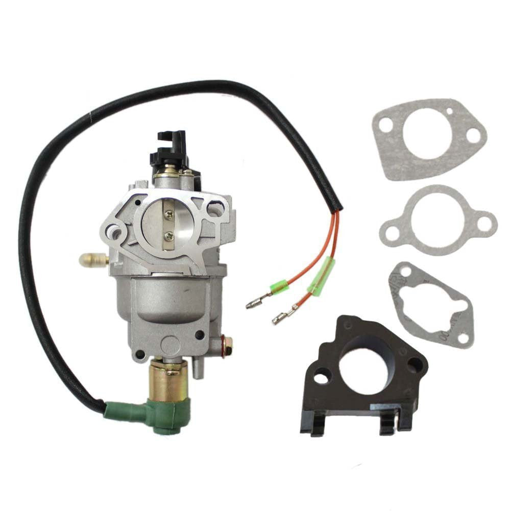 Titan 6500 TG6500 TG6500ES with Manual Choke Lever Gasoline Generator Carburetor - AE-Power