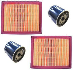 2 NEW Air Filters Cleaners and Oil Filters FITS Honda GX620 20 HP V Twin - AE-Power
