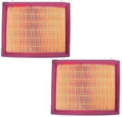2 New Air Filters Cleaners Fits Honda GX610 GX620 GX670 18 20 24 HP V Twin - AE-Power