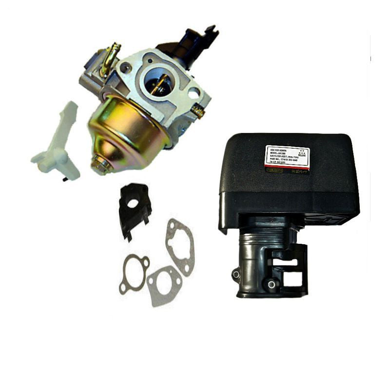 Honda GX270 9.0HP Carburetor, Air Box and Gaskets Honda 9.0 HP Gasoline Engines