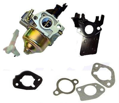 New Honda GX200 6.5HP Carburetor & 5 Piece Gasket Set for Honda 6.5hp Gas Engine