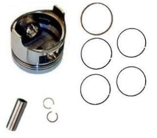 Honda GX160 5.5 HP 0.50 mm Over Standard Sized Bore Piston with Rings Clips Pin