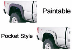 1999 -2006 Chevrolet Silverado 1500 Pocket Style Fender Flares Smooth Finish, Set of 4 - AE-Power