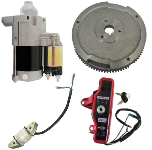 new starter motor flywheel charging coil stator keybox kit