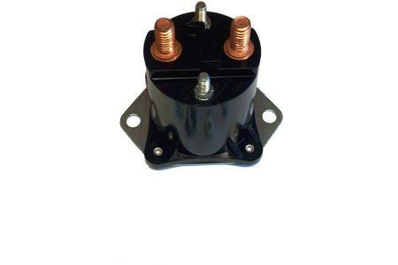 Club Car 12 Volt 4 Terminal Solenoid (04+) Precedent &(84+) D Gas Golf Cart Coil