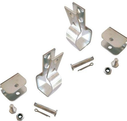 4 New Steel Mounting Brackets for Linear Actuators Set Easy Stability