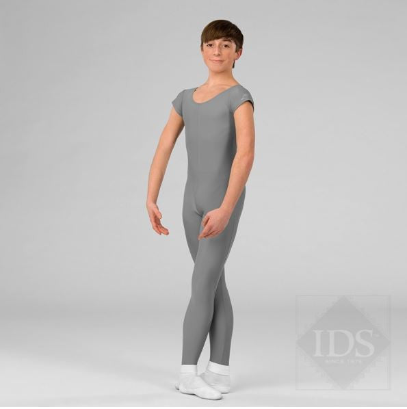 Grey Mens Unitard Professional