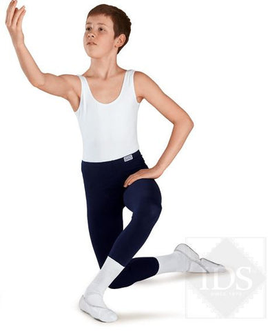 Boys Stirrup Tights (Cotton, Lycra and Polyester)