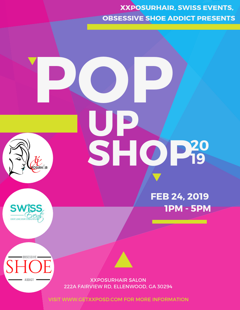 POP UP SHOP 2019