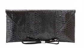 Black Fashion Clutch - Obsessive Shoe Addict