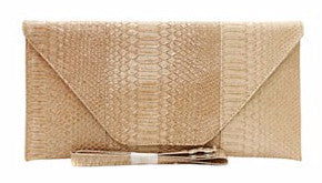 Champagne Fashion Clutch - Obsessive Shoe Addict