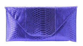 Royal Blue Fashion Clutch - Obsessive Shoe Addict