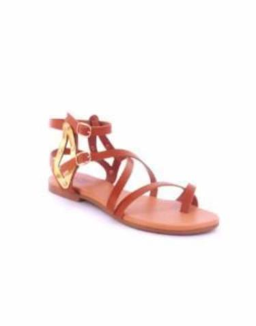 Andrea Brown Gladiator Sandal - Obsessive Shoe Addict