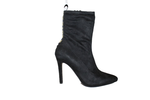Love Suede Pointy Toe Bootie - Obsessive Shoe Addict