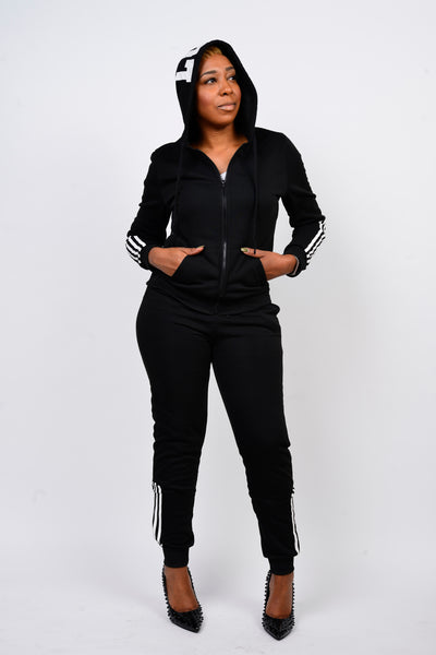 Love Hoodie Sweatsuit - Obsessive Shoe Addict