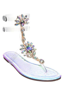 Bling Thong Sandal - Obsessive Shoe Addict