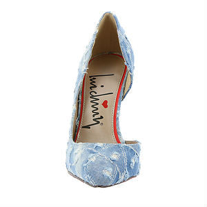 Luichiny Disco Step Denim D'orsay Pump - Obsessive Shoe Addict