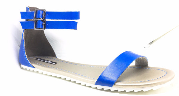 Michael Antonio Women's Denous Sandal (Blue) - Obsessive Shoe Addict