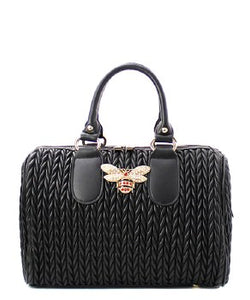 Black Lady Bug Handbag - Obsessive Shoe Addict