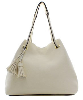 Off White 2 In 1 Fashion Handbag - Obsessive Shoe Addict