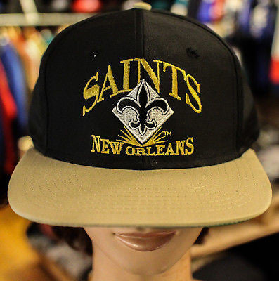 VTG New Orleans Saints NFL Football Snapback hat cap AJD DS