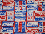 Vtg usa NFL New York NY Giants football Bandana scarf scarves