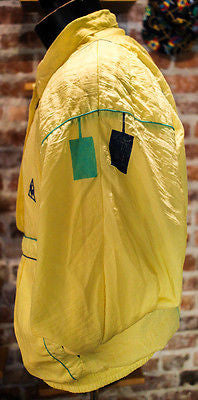 Le coq spor tif Jacket size med vintage great condition Yellow lecocsportif