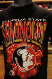 Vintage NCAA Florida State Seminoles Tribal college champs student sport t shirt