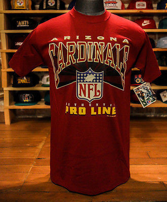 Vintage NFL Arizona Phoenix Cardinals Pro Line sport football t shirt