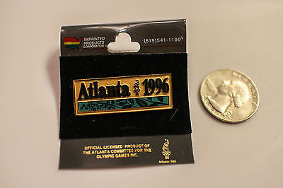 Vintage USA Atlanta 1996 Olympic winter summer games button Pinback hat pin