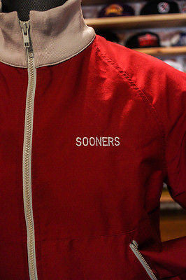 Oklahoma Sooners jacket size Large made in USA