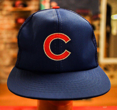 VTG DS Chicago Cubs (MESH) MLB BASEBALL  Snapback Hat
