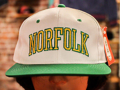 Norfolk State University snap hat ds w/tags