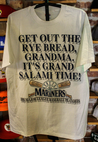 Seattle Mariners 1995 Play offs shirt Large