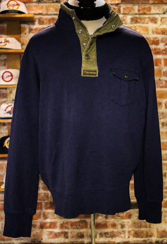 Polo Pull over button up size XL