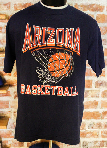 Vintage University of Arizona Basketball T-Shirt Size XL