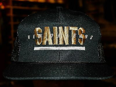 New Orleans Saints NFL Football Trucker Mesh Snapback hat cap