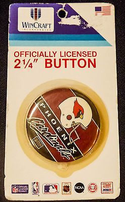 VTG Phoenix Cardinals  NFL Football Button