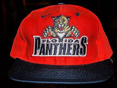 VTG Florida Panthers NHL Hockey Snapback hat cap