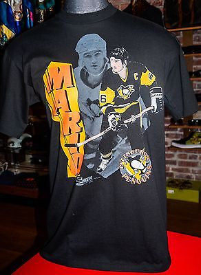 VTG Pittsburgh Ping wins NHL Hockey Tee sz XL