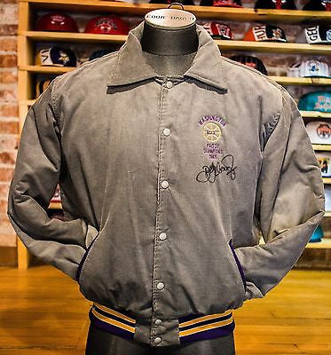 University of Washington Huskies Pac10 Signed (detlef schrempf) Jacket sz XL
