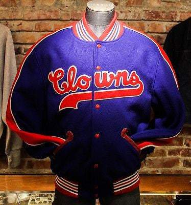 Clowns Letterman Jacket Sz L