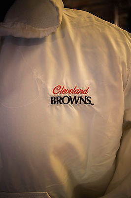 Cleveland Brown Jacket size Large by Artex