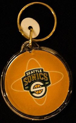 VTG Seattle Supersonics Miller MGD Keychain