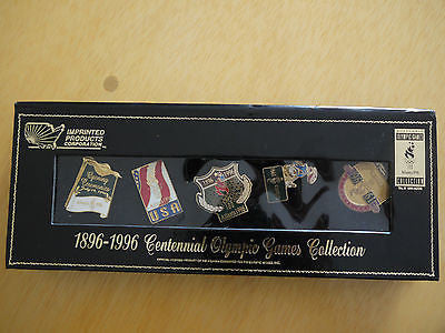VTG 1896-1996 Centennial Olympic games collection pins
