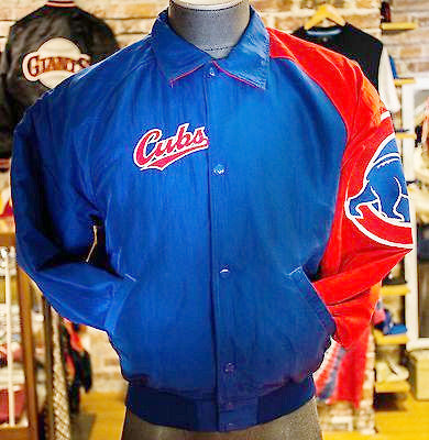 Chicago Cubs Starter Jacket sz S