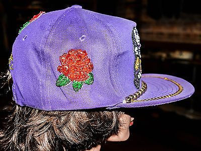 VTG Washington Huskies Rose bowl one of a kind NCAA Collage Snapback hat cap