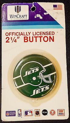 VTG New York Jets NFL Football Button
