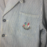 Vintage Polo Chore jacket 1987 Anniversary flags